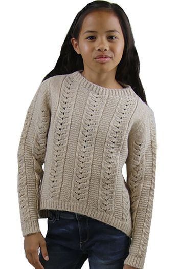 Mayoral Gold High Low Sweater  (Size 12)