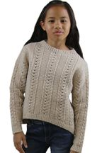 Mayoral Gold High Low Sweater  (8,10,12,14)