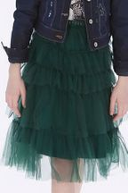 Mayoral Green Tulle Skirt Tween (8,10,12,14)
