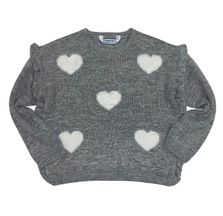 Mayoral Heart Sweater in Gray (Size 2 to 8)