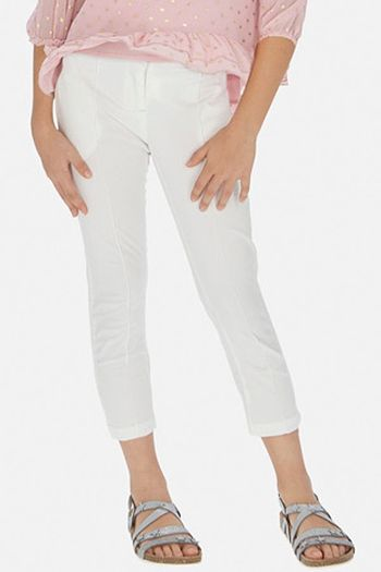 Mayoral Ivory Tween Pant Modern (Sizes 8 to 14)