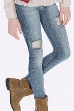 Mayoral Jeans with Pearls and Gold Sequins (8,10,12,14)