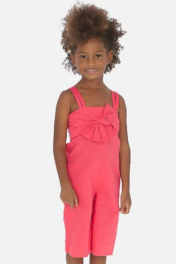 Mayoral Jumpsuit in Watermelon with Tie Front (4,5,6,7)