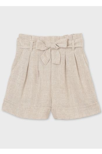 Mayoral Linen Shorts for Tween Paperbag