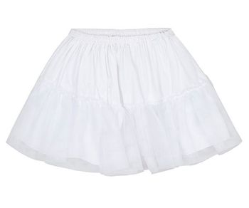Mayoral Petticoat Skirt in White (Size 6)
