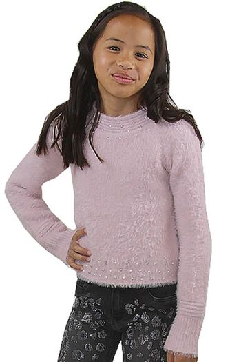 Mayoral Pink Sweater Fuzzy (Size 2 to 8)