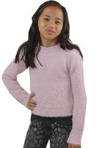 Mayoral Pink Sweater Fuzzy (2,3,5,6,7)