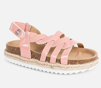 Mayoral Platform Sandals Blush