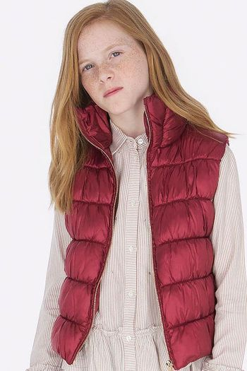 Mayoral Puffer Vest Ruby (8,10,12,14)