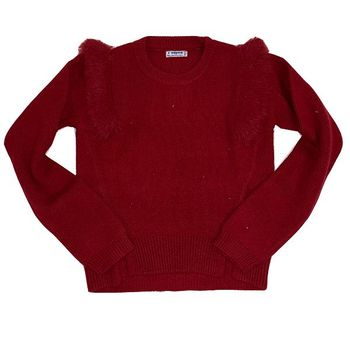 Mayoral Red Pullover Sweater  (8,10,12)