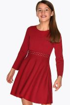 Mayoral Red Sweater Dress Girls (8 & 10)