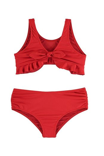 Mayoral Red Tween Bikini