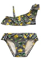 Mayoral Ruffle Swimsuit with Lemons (Sizes 2 to 8)