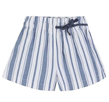 Mayoral Shorts in Blue & White Stripe for Tweens (8,10,12,14)