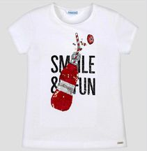 Mayoral Soda Pop Tee in Red (8,10,12,14)