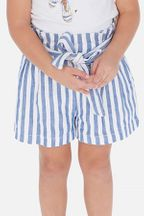 Mayoral Stripe Shorts in Blue & White (Sizes 2 to 8)