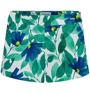 Mayoral Tropical Print Shorts
