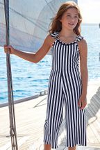 Mayoral Tween Romper in Stripes (12 & 14)