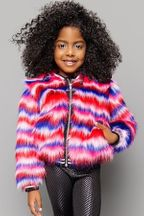 Mia New York Electric Faux Fur Jacket (MD 10 & LG 12)