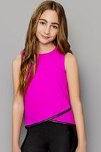Mia New York Fuchsia Fancy Top