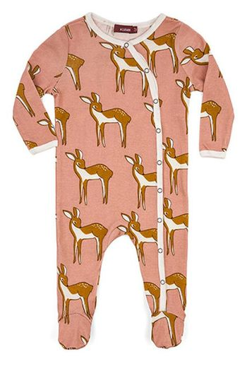 Milkbarn Doe Footed Romper SOLD OUT