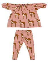 Milkbarn Rose Doe Dress Set
