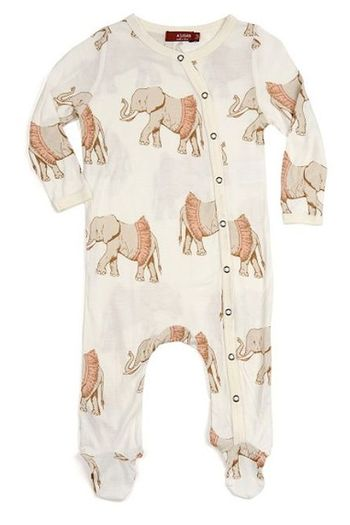 Milkbarn Tutu Elephant Footed Romper SOLD OUT