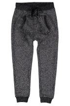 Molo Aliki Soft Pants Black Silver (6 & 7)
