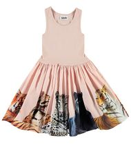 Molo Big Cats Dress (3/4 & 7/8)