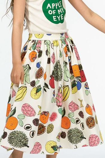 Molo Friendly Fruit Skirt (Size 3/4 to 9/10)