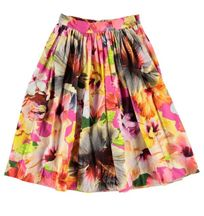 Molo Midi Skirt for Girls Pacific Floral (Sizes 3/4 to 9/10)