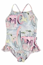 Molo Noona Signs Swimsuit (Size 2)