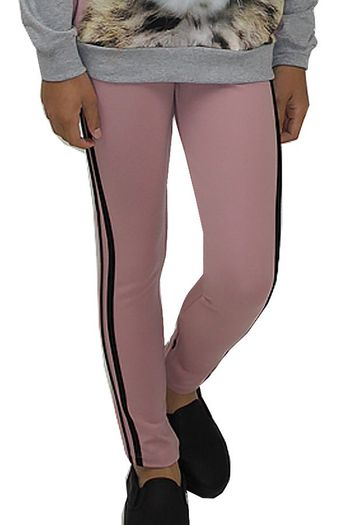 Molo Pink Leggings with Black Banding (4 & 6)