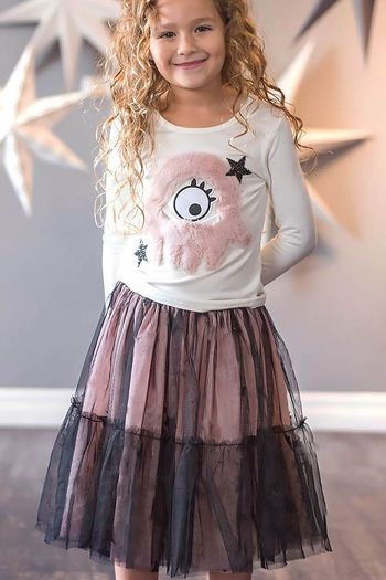 Monster Mash Top and Starstruck Skirt (3T,4T,4,5,7,8)