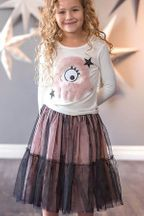 Monster Mash Top and Starstruck Skirt (Size 4)