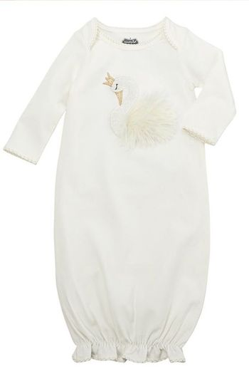Mud Pie Swan Sleep Gown SOLD OUT