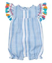 Mud Pie Tassel Bubble (3Mos,6Mos,9Mos,12Mos)