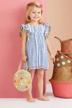 Mud Pie Tassel Dress (18Mos & 5T)