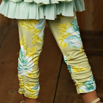 Mustard Pie Apple Blossom Leila Legging (12Mos)