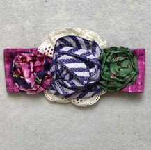 Mustard Pie Indigo Orchard Flora Headband (Girl & Tween)