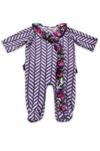 Mustard Pie Indigo Orchard Infant Footie Willa