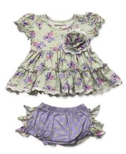 Mustard Pie Lucy Dress Set Lilac Field
