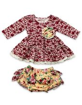 Mustard Pie Red Robin Lucy Dress Set (NB & 9Mos)