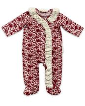 Mustard Pie Red Robin Romper Footie