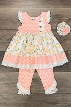 Mustard Pie Rosy Set Honey Blossom (4,6X,8)