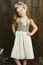 Mustard Pie Starlight Holiday Dress (2T,4T,4,6X,7,10,12)