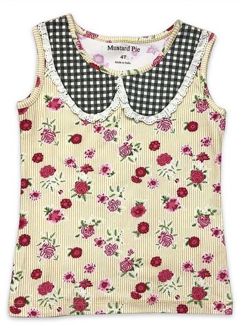 Mustard Pie Strawberry Field Izzy Tank SOLD OUT