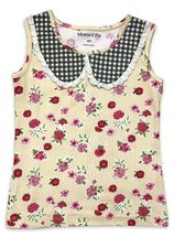 Mustard Pie Strawberry Field Izzy Tank (12Mos,2T,3T,4T,5,6)