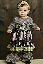 Olivia Dress Set by Mustard Pie (Size 6X)