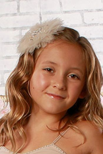 Ooh La La Couture Girls Headband in Sand SOLD OUT
